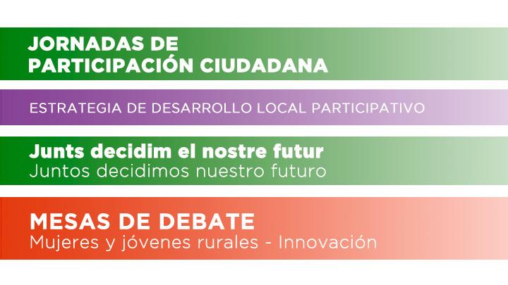 Participación ciudadana Mujeres y jóvenes rurales