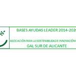 Bases de las ayudas LEADER 2014-2020 a operaciones conforme a la estrategia de desarrollo rural participativo – EDLP