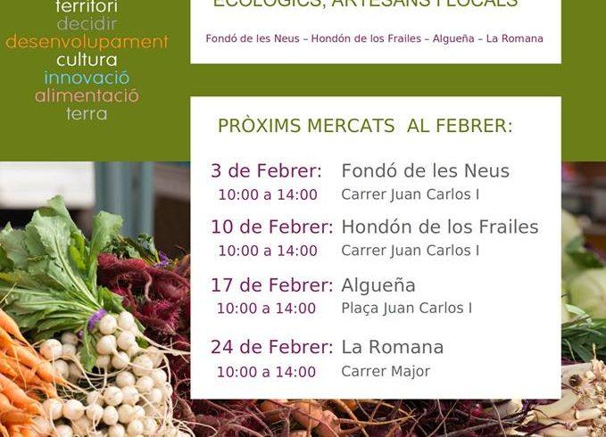 Mercat Eco-Distrit | Vinalopó Mitjà | Febrer