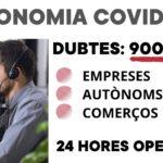 La Conselleria de Economía Sostenible habilita el teléfono 900 35 31 35 para atender dudas de empresas, autónomos y comercios frente a la crisis del COVID-19