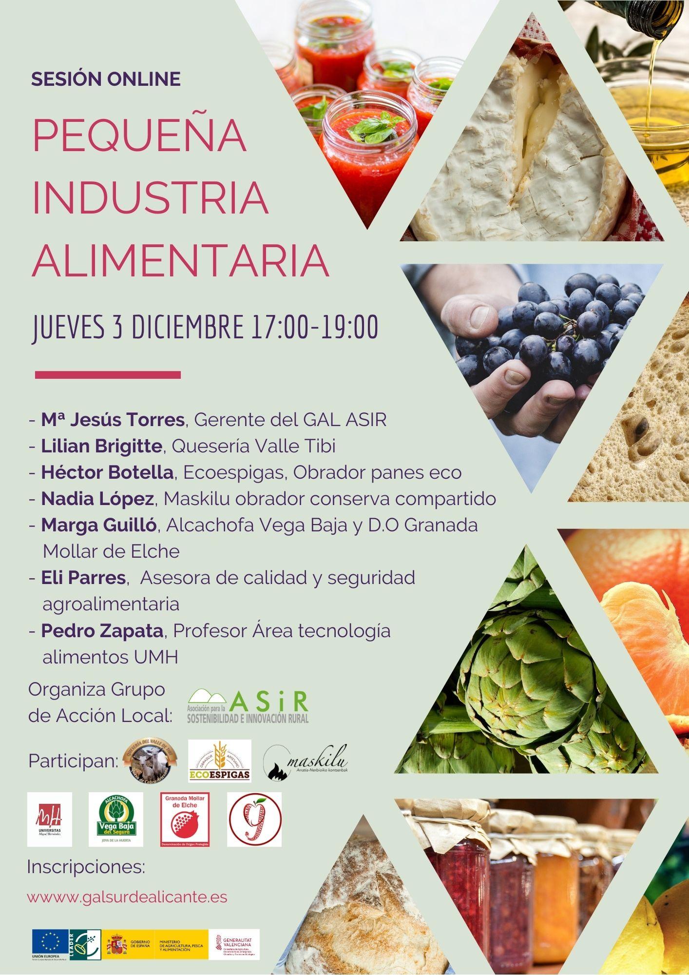 jornada online industria alimentaria