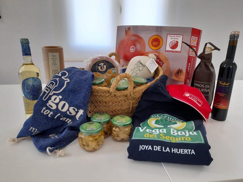 Sorteo de productos del sur de Alicante