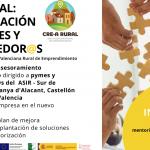 Asesoramiento empresarial y mentoría para nuevos emprendedores con CRE-A Rural: ¡forma parte del proyecto!