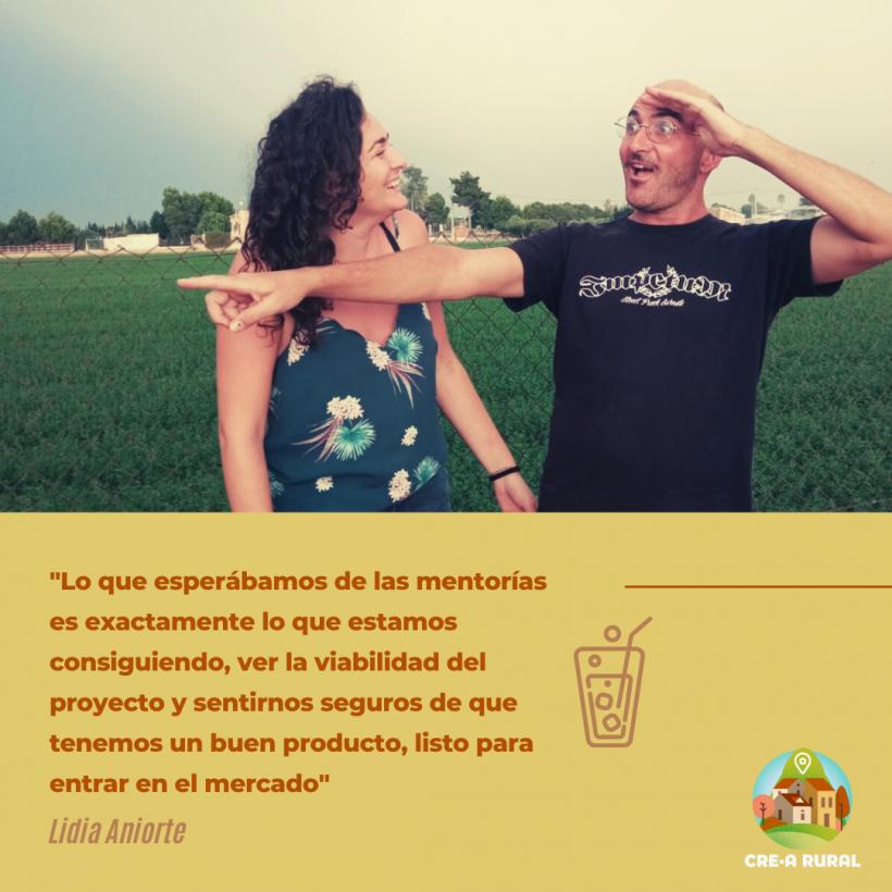 Lidia Aniorte y su proyecto de negocio 'eco friendly'